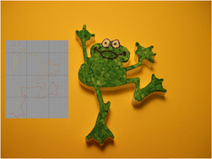 Picture Frog DXF